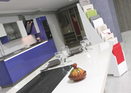 Showroom cuisine Tanger